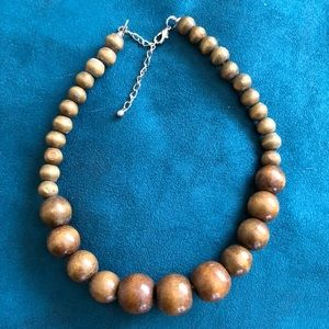 Jewelry - Wooden beaded necklace